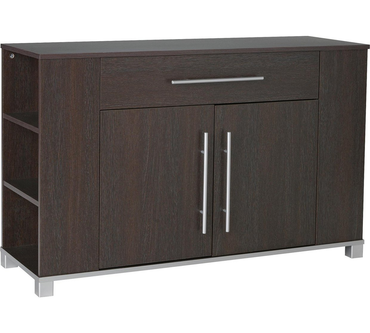 Marlow 2 door 1 drawer sideboard wenge online furniture wholesaler - Sideboard wenge ...