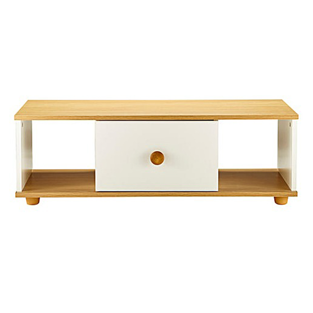 Cambridge Coffee Table Oak And Ivory Online Furniture