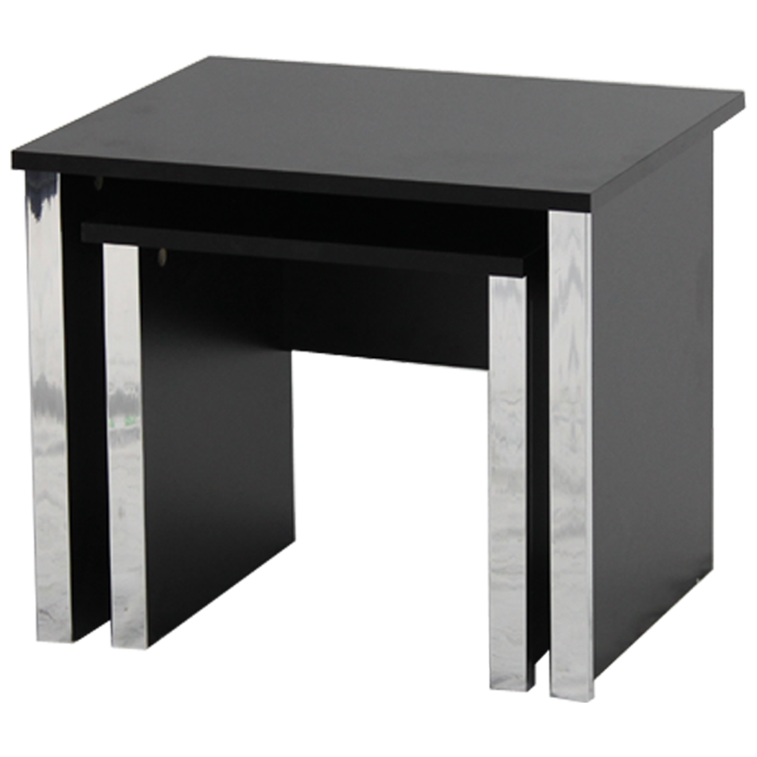 GOSPORT NEST OF TABLES BLACK