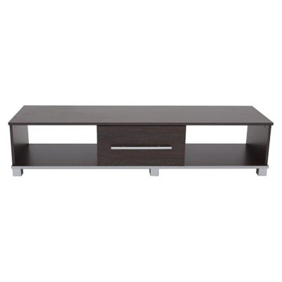 GOSPORT 2 DRAWER ENTERTAINMENT UNIT BLACK