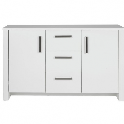 BLISLEY 2 DOOR 3 DRAWER SIDEBOARD WHITE